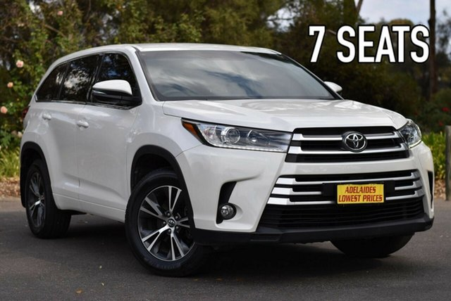 Used Toyota Kluger GSU55R GX AWD Melrose Park, 2017 Toyota Kluger GSU55R GX AWD White 8 Speed Sports Automatic Wagon