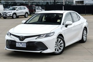 2020 Toyota Camry ASV70R Ascent White Sports Automatic Sedan.