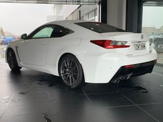 2014 Lexus RC USC10R RC F White 8 Speed Sports Automatic Coupe