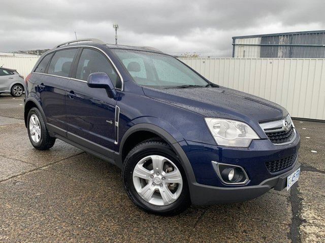 Used Holden Captiva CG Series II 5 Moonah, 2011 Holden Captiva CG Series II 5 Blue 6 Speed Sports Automatic Wagon