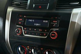 2015 Nissan Navara NP300 D23 RX (4x4) White 6 Speed Manual Double Cab Utility