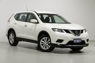 2015 Nissan X-Trail T32 ST (FWD) White Continuous Variable Wagon.