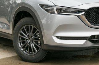 2021 Mazda CX-5 KF2W7A Maxx SKYACTIV-Drive FWD Sport Sonic Silver 6 Speed Sports Automatic Wagon.