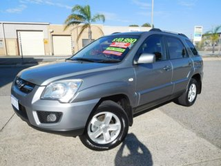 2010 Kia Sportage KM2 MY10 EX Grey 6 Speed Manual Wagon.