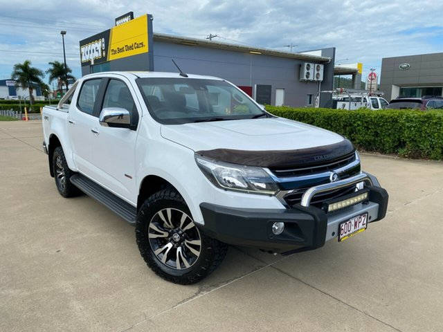 Used Holden Colorado RG MY17 LTZ Pickup Crew Cab Townsville, 2016 Holden Colorado RG MY17 LTZ Pickup Crew Cab White/280217 6 Speed Manual Utility