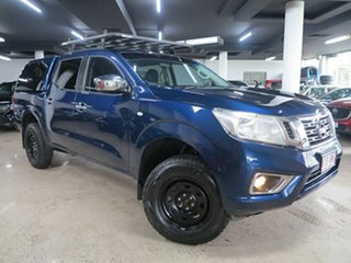 2015 Nissan Navara D23 RX Blue 6 Speed Manual Utility.