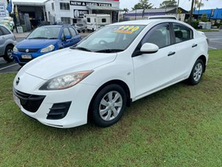 2011 Mazda 3 BL10F1 MY10 Neo Activematic White 5 Speed Sports Automatic Sedan.