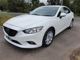 2013 Mazda 6 GJ Sport White Sports Automatic Sedan