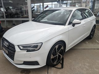2019 Audi A3 8V MY19 35 TFSI Sportback S Tronic White 7 Speed Sports Automatic Dual Clutch Hatchback