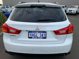 2014 Mitsubishi ASX XB MY15 XLS 2WD White 6 Speed Constant Variable Wagon.
