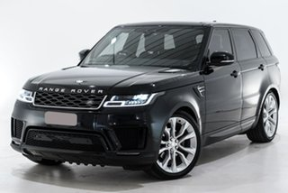 2019 Land Rover Range Rover Sport L494 19.5MY SE Black 8 Speed Sports Automatic Wagon.