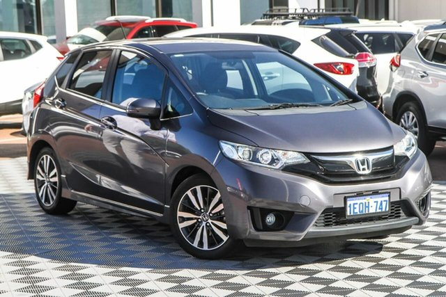 Used Honda Jazz GF MY15 VTi-S Attadale, 2014 Honda Jazz GF MY15 VTi-S Grey 1 Speed Constant Variable Hatchback