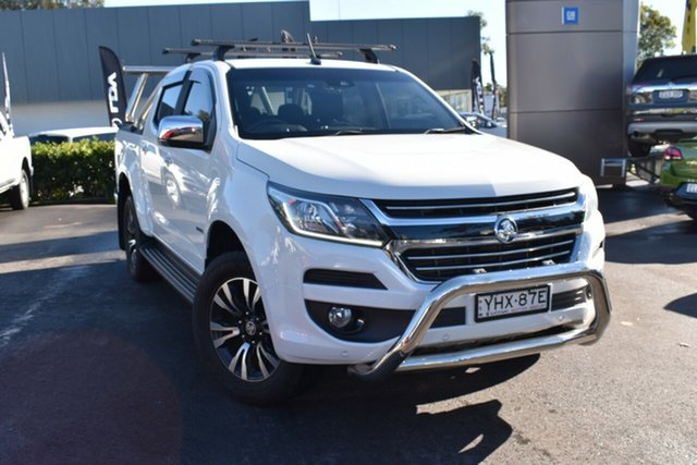 Used Holden Colorado RG MY18 LTZ Pickup Crew Cab Tuggerah, 2018 Holden Colorado RG MY18 LTZ Pickup Crew Cab White 6 Speed Sports Automatic Utility