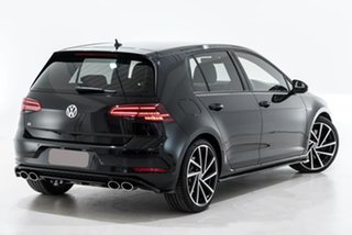 2017 Volkswagen Golf 7.5 MY17 R DSG 4MOTION Black 7 Speed Sports Automatic Dual Clutch Hatchback.