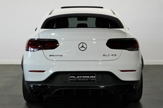 2020 Mercedes-Benz GLC-Class C253 800+050MY GLC43 AMG Coupe SPEEDSHIFT TCT 4MATIC White 9 Speed