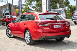 2013 Mazda 6 GJ1031 Atenza SKYACTIV-Drive Soul Red 6 Speed Sports Automatic Wagon.