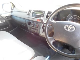 2010 Toyota HiAce TRH201R MY10 LWB Silver 4 Speed Automatic Van