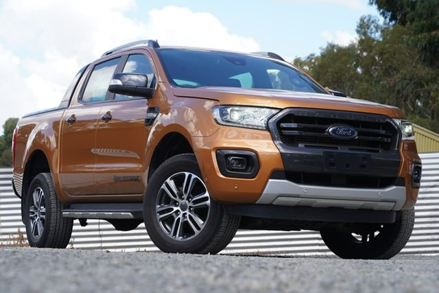 Used Ford Ranger PX MkIII 2020.25MY Wildtrak Clare, 2019 Ford Ranger PX MkIII 2020.25MY Wildtrak Orange 6 Speed Sports Automatic Double Cab Pick Up