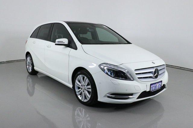 Used Mercedes-Benz B180 246 MY14 Bentley, 2014 Mercedes-Benz B180 246 MY14 White 7 Speed Auto Direct Shift Hatchback