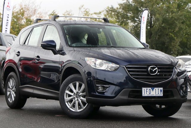 Used Mazda CX-5 KE1071 MY14 Maxx SKYACTIV-Drive Sport Essendon North, 2014 Mazda CX-5 KE1071 MY14 Maxx SKYACTIV-Drive Sport Blue 6 Speed Sports Automatic Wagon