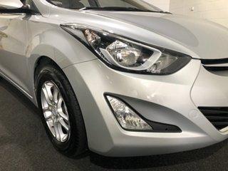 2015 Hyundai Elantra MD3 Active Silver 6 Speed Manual Sedan.