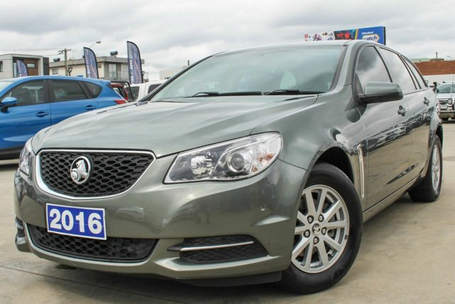 Used Holden Commodore VF II MY16 Evoke Sportwagon Coburg North, 2016 Holden Commodore VF II MY16 Evoke Sportwagon Green 6 Speed Sports Automatic Wagon
