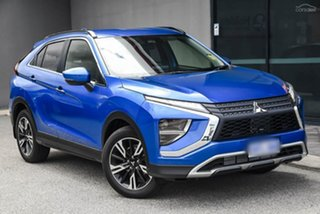 2020 Mitsubishi Eclipse Cross YB MY21 LS 2WD Blue 8 Speed Constant Variable Wagon.