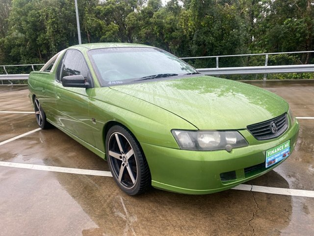 Used Holden Commodore VY S Morayfield, 2003 Holden Commodore VY S Green 5 Speed Manual Utility