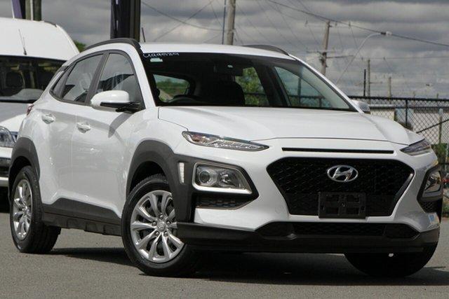 Used Hyundai Kona OS.2 MY19 Go 2WD Rocklea, 2019 Hyundai Kona OS.2 MY19 Go 2WD Chalk White 6 Speed Sports Automatic Wagon