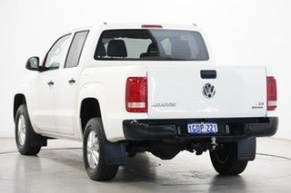2018 Volkswagen Amarok 2H MY18 TDI420 4MOTION Perm Core White 8 Speed Automatic Cab Chassis