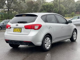 2011 Kia Cerato SI Bright Silver Sports Automatic Hatchback