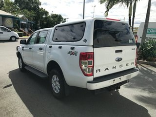 2016 Ford Ranger PX MkII XLS Double Cab White 6 speed Automatic Utility