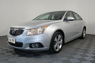 2013 Holden Cruze JH Series II MY13 CD Silver 6 Speed Sports Automatic Sedan.