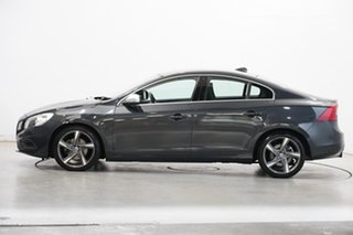 2011 Volvo S60 F Series MY12 T5 PwrShift R-Design Grey 6 Speed Sports Automatic Dual Clutch Sedan.