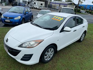 2011 Mazda 3 BL10F1 MY10 Neo Activematic White 5 Speed Sports Automatic Sedan