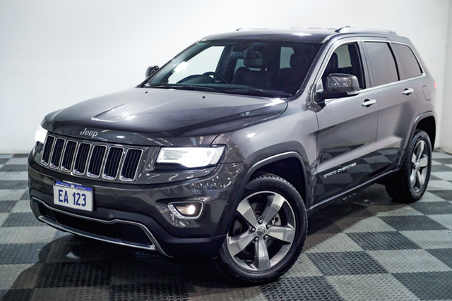 Used Jeep Grand Cherokee WK MY15 Limited Edgewater, 2015 Jeep Grand Cherokee WK MY15 Limited Grey 8 Speed Sports Automatic Wagon