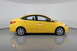 2017 Hyundai Accent RB5 Sport Yellow 6 Speed Automatic Sedan
