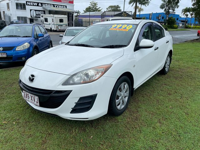 Used Mazda 3 BL10F1 MY10 Neo Activematic Clontarf, 2011 Mazda 3 BL10F1 MY10 Neo Activematic White 5 Speed Sports Automatic Sedan