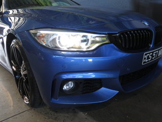 2013 BMW 435i F32 Blue 8 Speed Automatic Coupe
