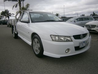 2005 Holden Ute VZ S White 4 Speed Automatic Utility.