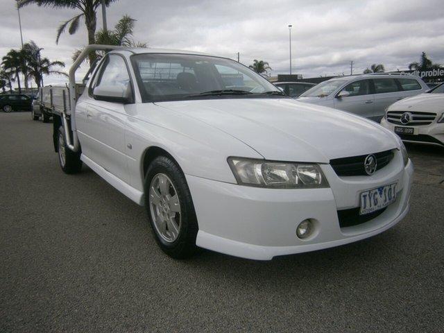 Used Holden Ute VZ S Cheltenham, 2005 Holden Ute VZ S White 4 Speed Automatic Utility