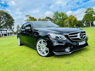 2015 Mercedes-Benz E250 212 MY15 Upgrade Black 7 SP AUTOMATIC Sedan.
