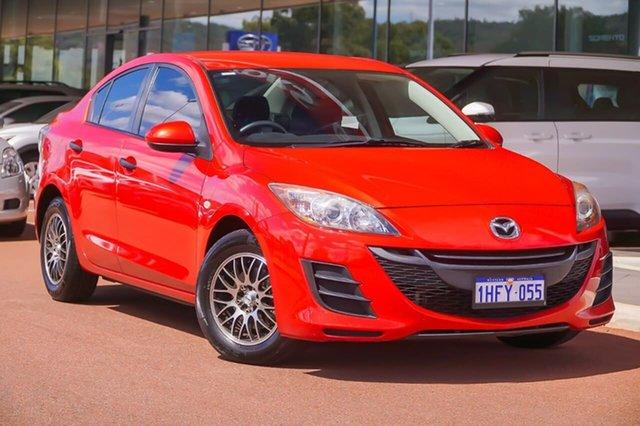 Used Mazda 3 BL10F1 Neo Gosnells, 2010 Mazda 3 BL10F1 Neo Red 6 Speed Manual Sedan
