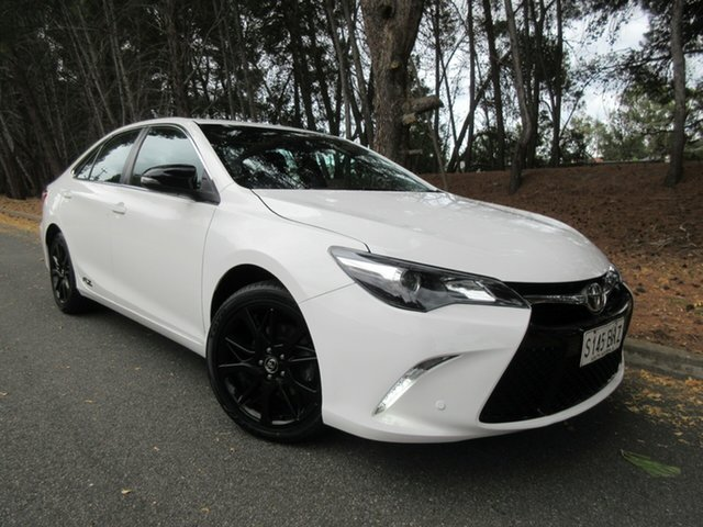 Used Toyota Camry ASV50R RZ Reynella, 2016 Toyota Camry ASV50R RZ White 6 Speed Sports Automatic Sedan