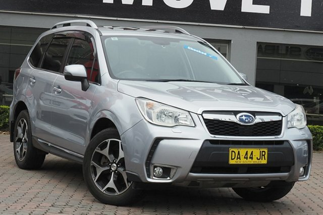 Used Subaru Forester S4 MY13 XT Lineartronic AWD Premium Parramatta, 2013 Subaru Forester S4 MY13 XT Lineartronic AWD Premium Silver 8 Speed Constant Variable Wagon
