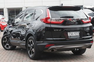2018 Honda CR-V RW MY18 VTi-S 4WD Black 1 Speed Constant Variable Wagon.