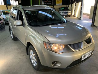 2007 Mitsubishi Outlander ZG MY08 LS Gold 5 Speed Manual Wagon.