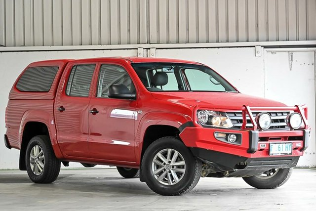 Used Volkswagen Amarok 2H MY16 TDI420 4MOTION Perm Core Laverton North, 2016 Volkswagen Amarok 2H MY16 TDI420 4MOTION Perm Core Red 8 Speed Automatic Cab Chassis