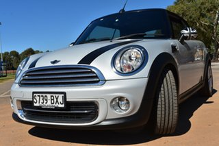 2013 Mini Cabrio R57 LCI Cooper Steptronic Silver 6 Speed Sports Automatic Convertible.
