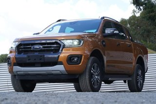 2019 Ford Ranger PX MkIII 2020.25MY Wildtrak Orange 6 Speed Sports Automatic Double Cab Pick Up.